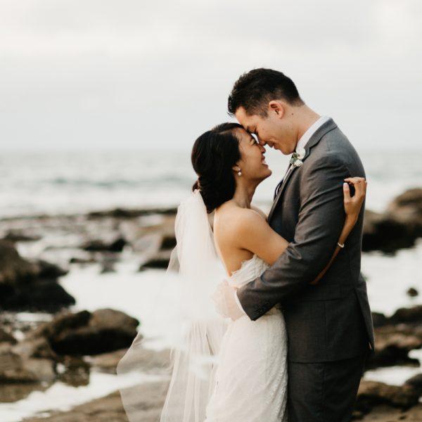 Chanel + Brett | Lanikuhonua | Hawaii Wedding